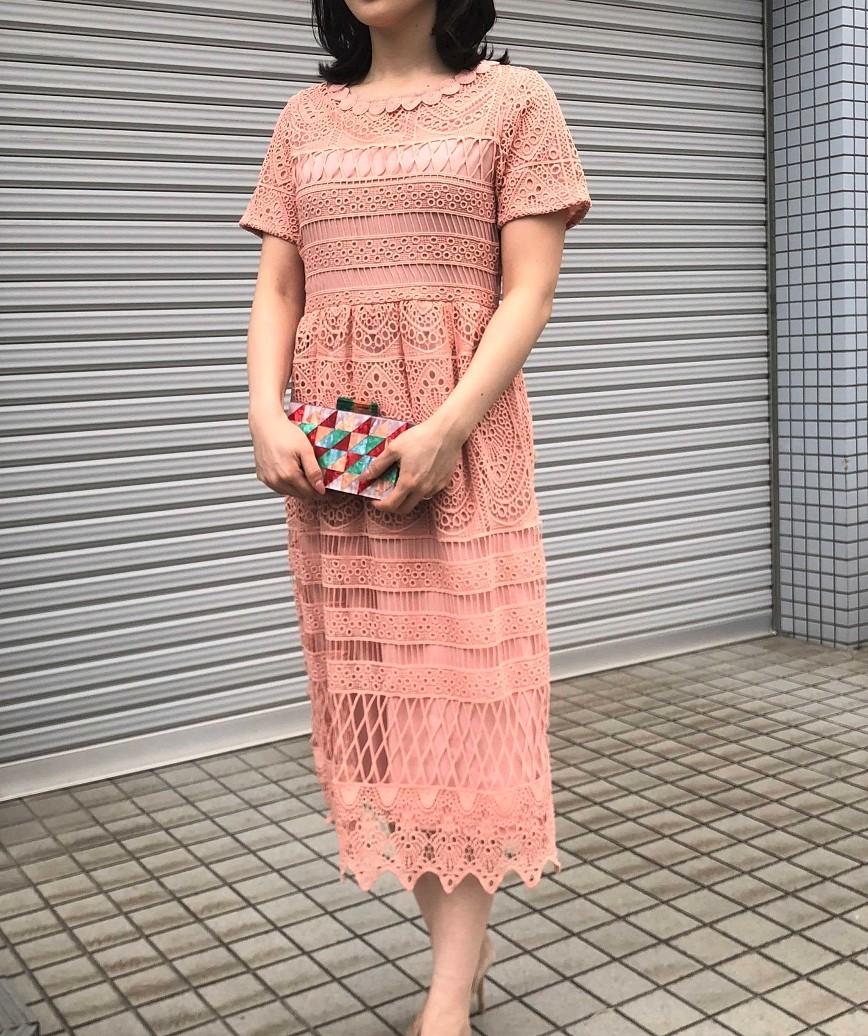 着用モデル:H159cm 着用カラー:ピンク