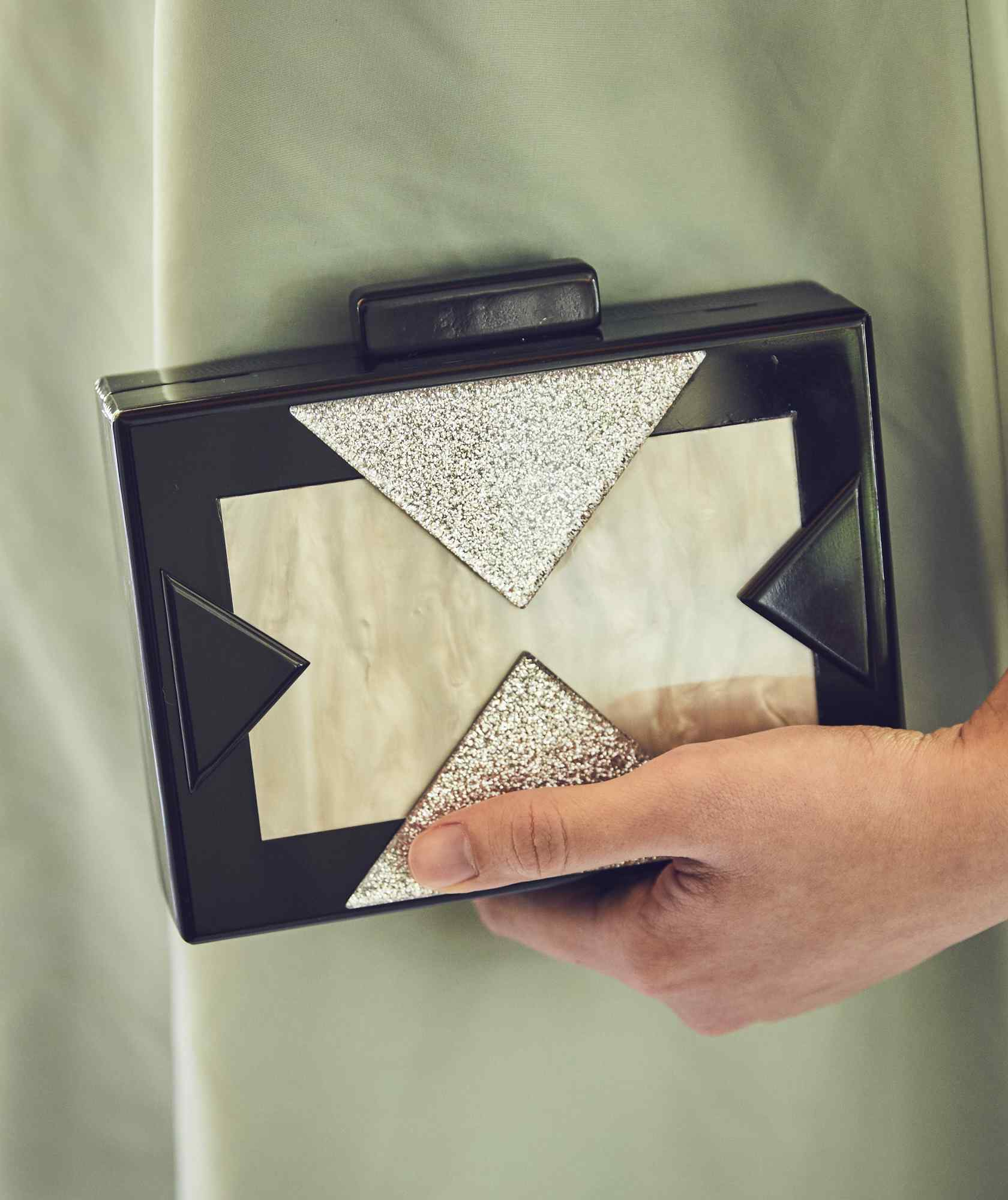 Black Box Clutch bag