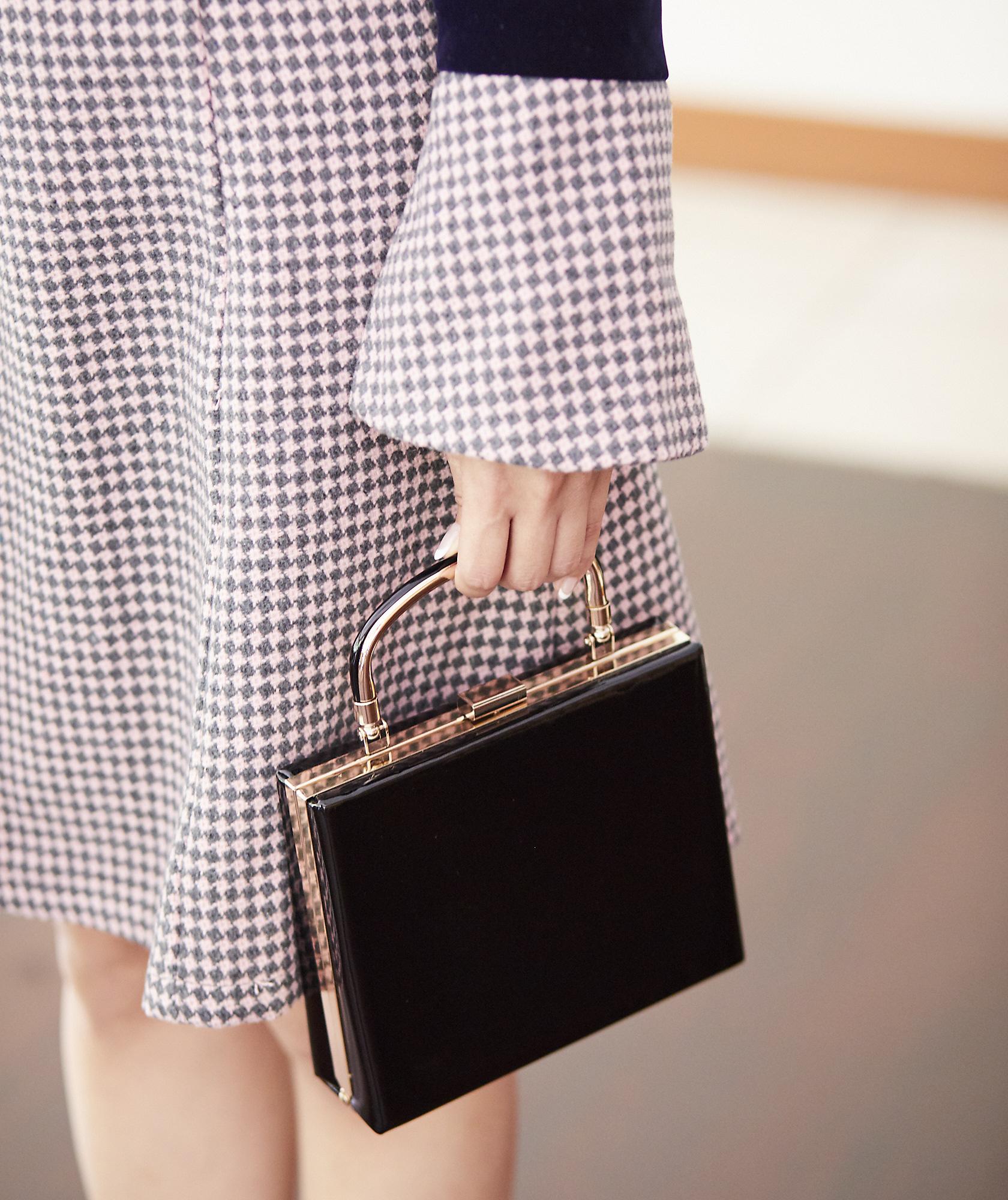 Gloss Black Handbag