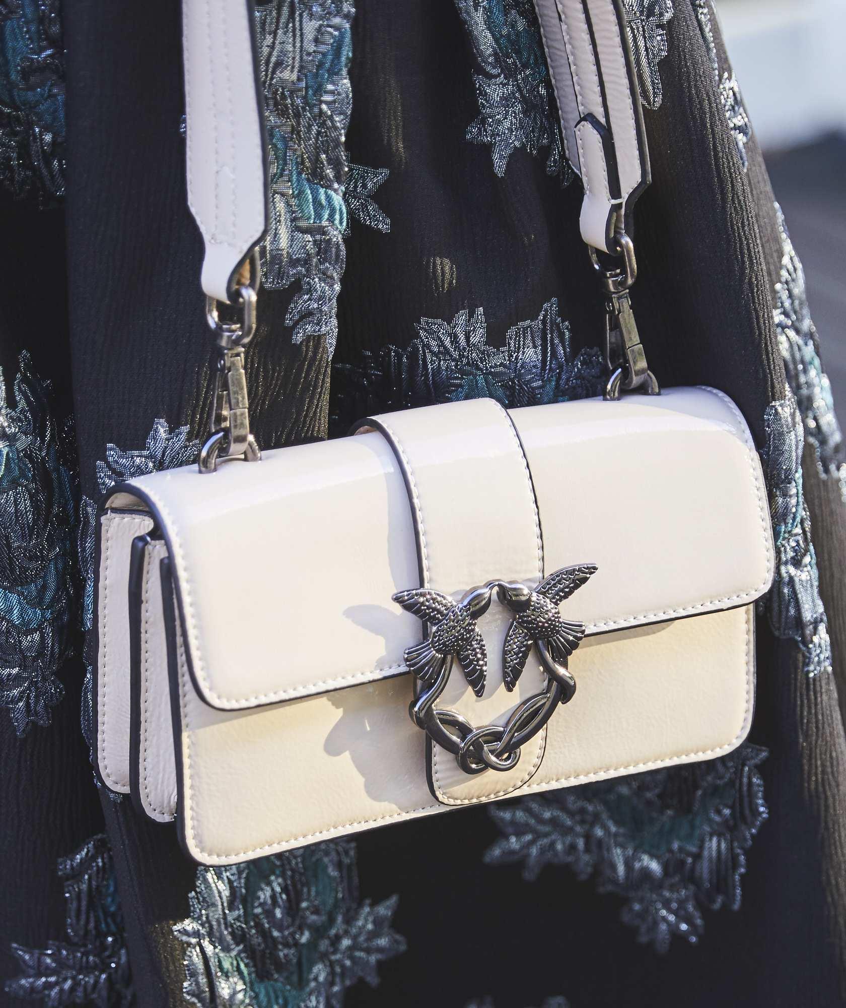 Enamel Hand Leather bag