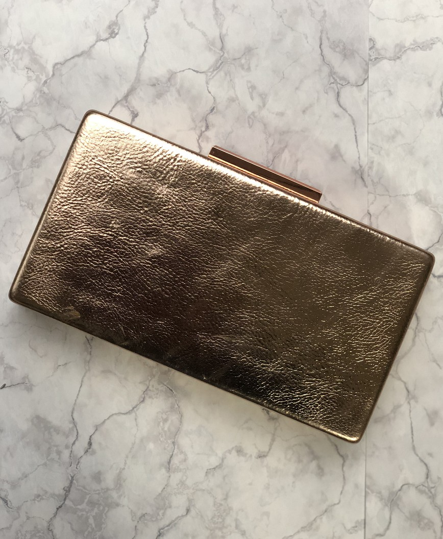 Rose Gold Rimless Clutch bag