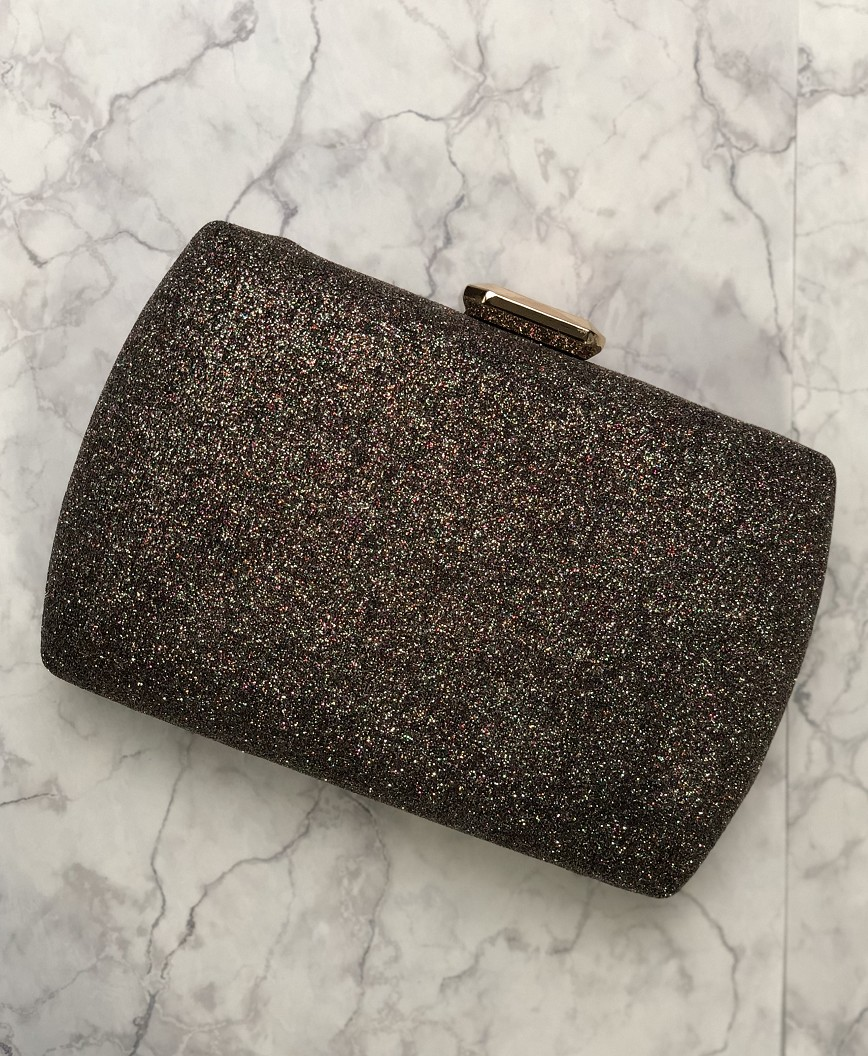 Lame Multi square Clutch bag