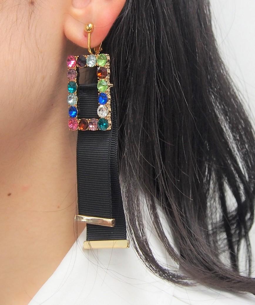 Belt Drop Earring