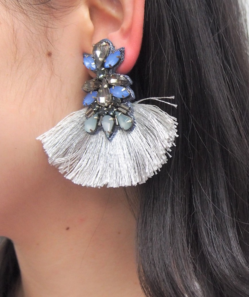 Bijou Fringe Drop Earrings