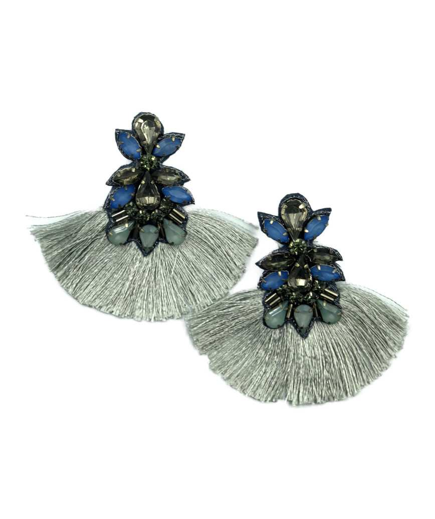 Bijou Fringe Drop Earrings