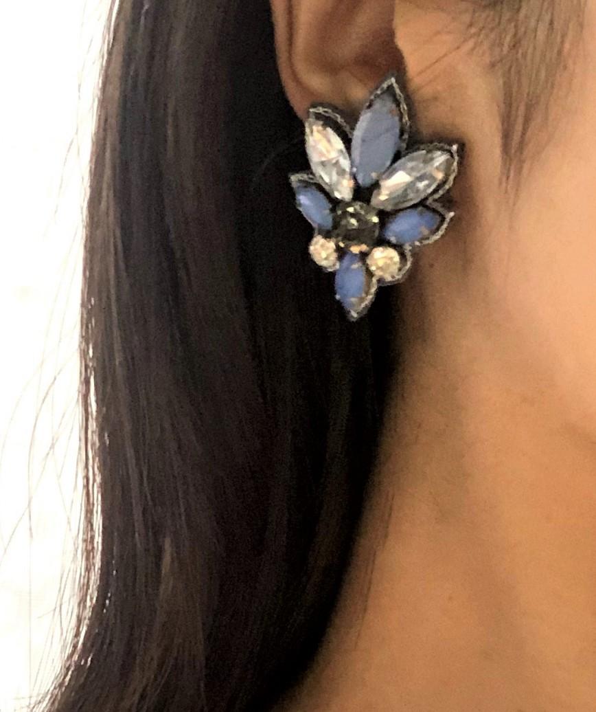 Blue petit bijou Earrings