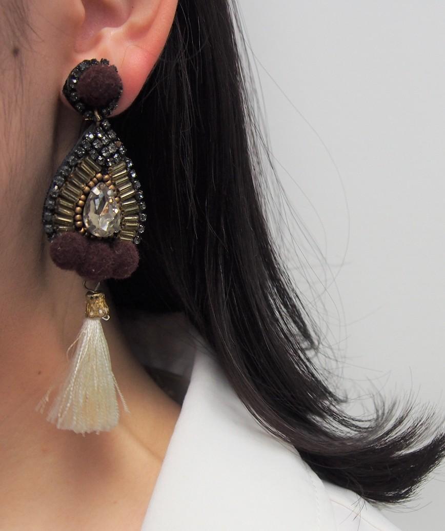 Drop Fringe Earrings