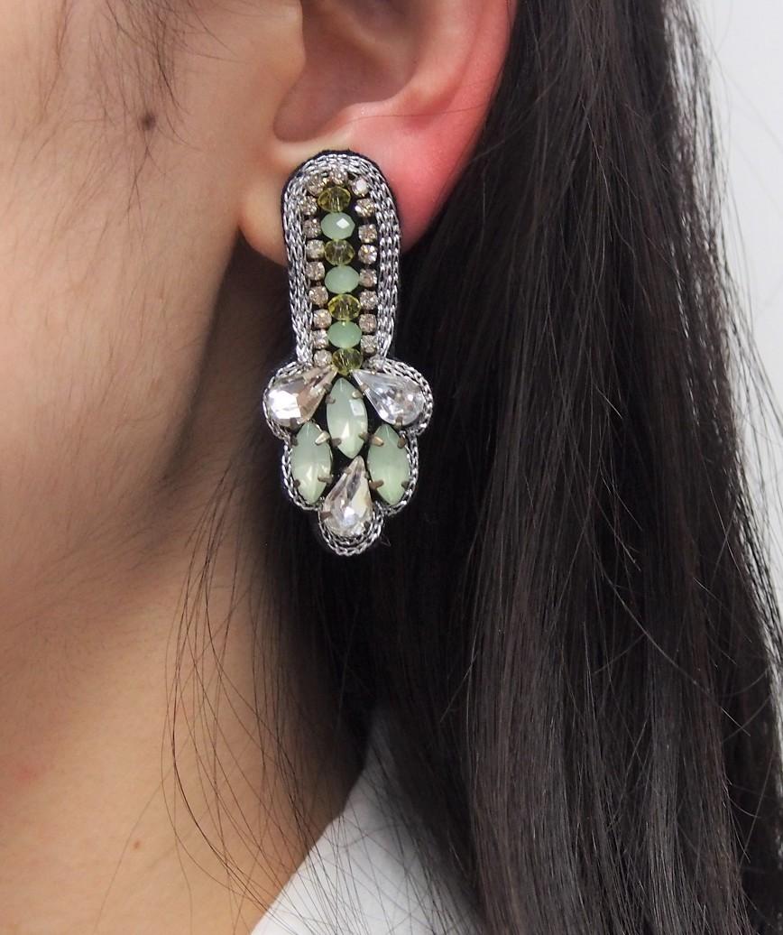 Ice Green Petit Earrings