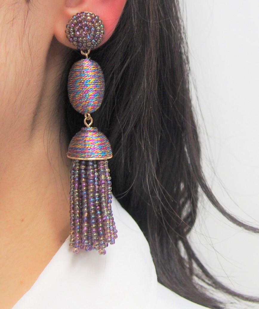 Tamsin Drop Earrings - Multi