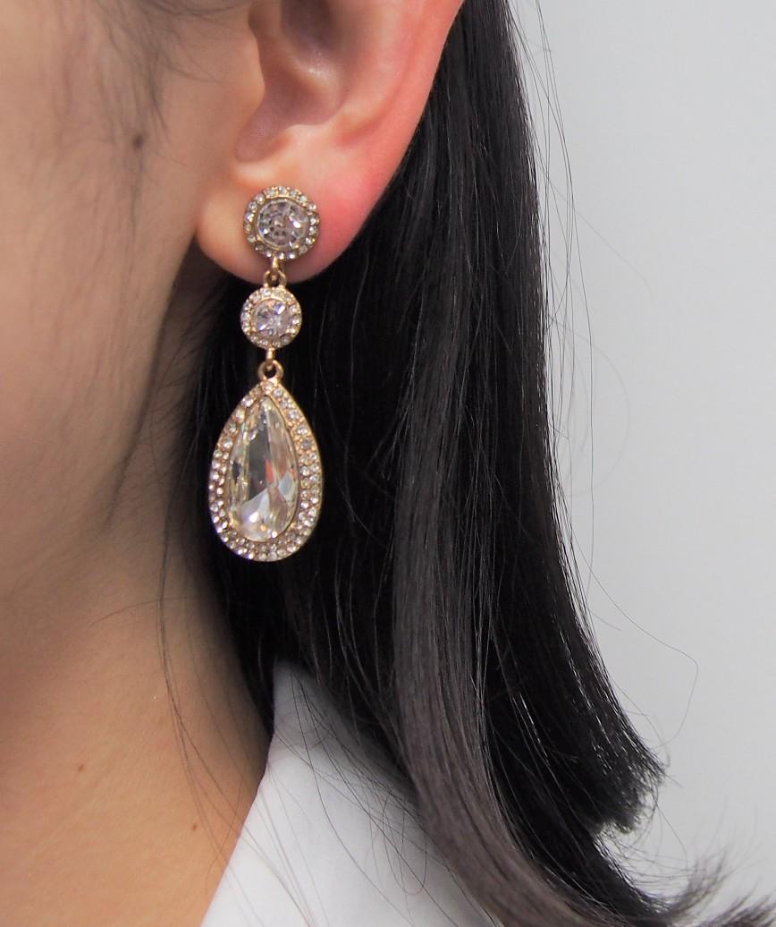 Drop Shape Earrings