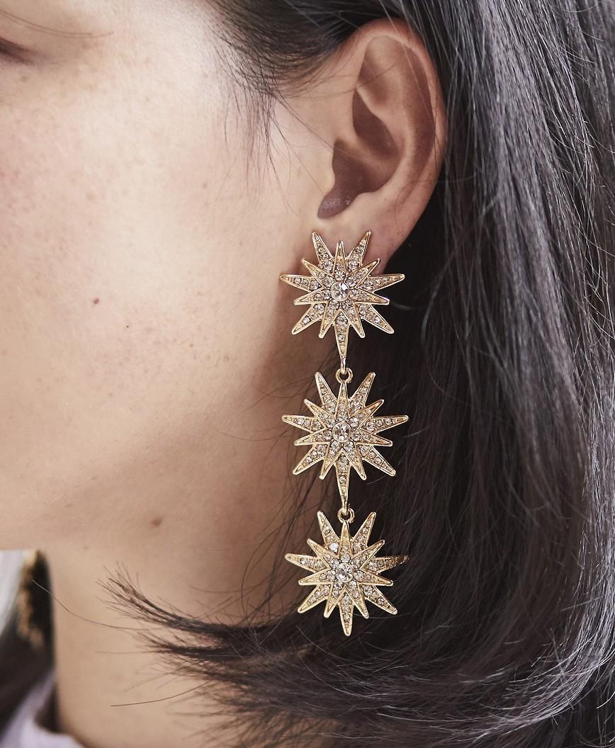 Three Stella Earrings