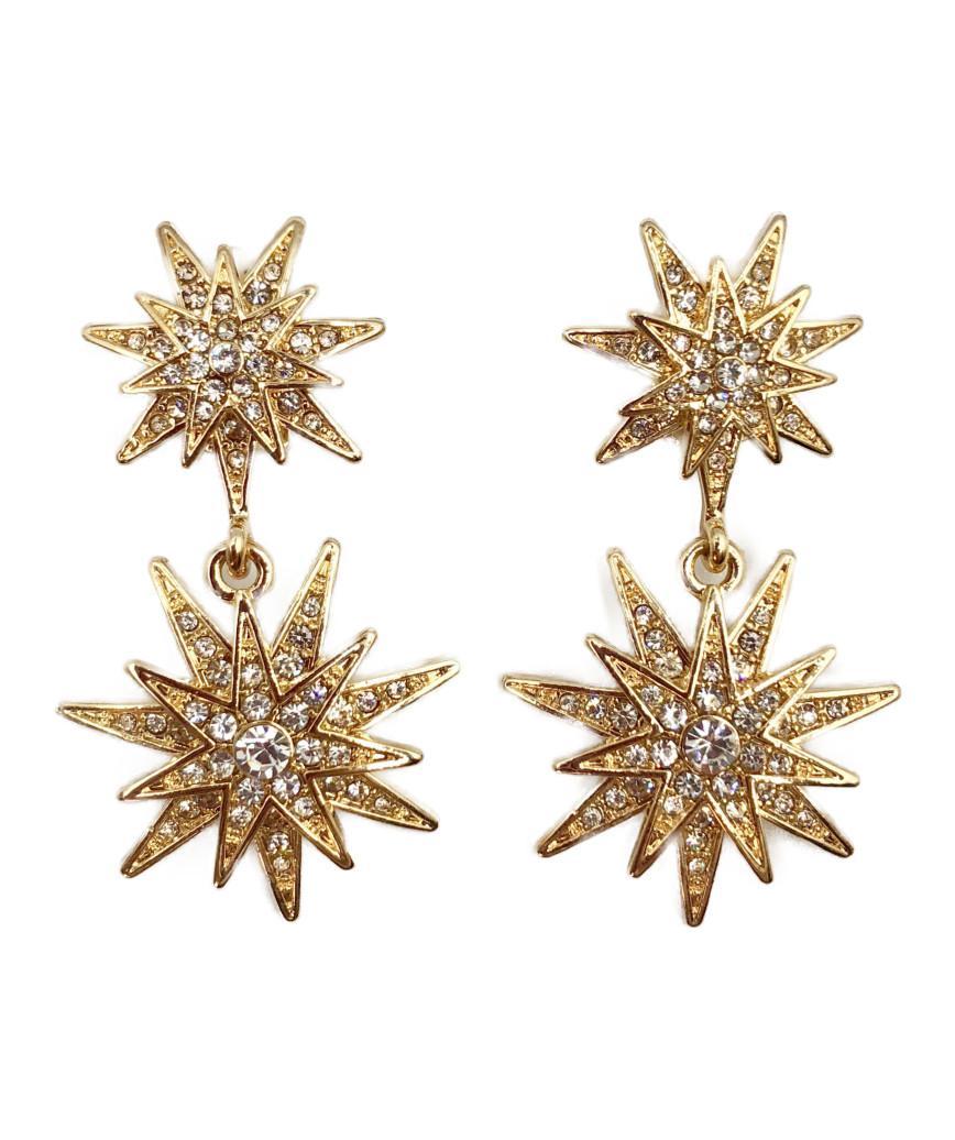 3D Stella Earrings