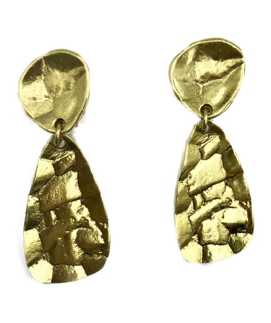 Gold Mirror Earrings
