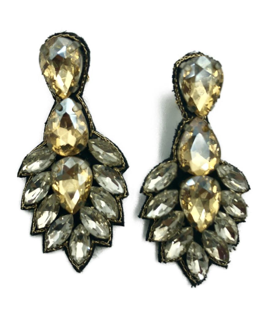 Big Bijoux Gold Earrings
