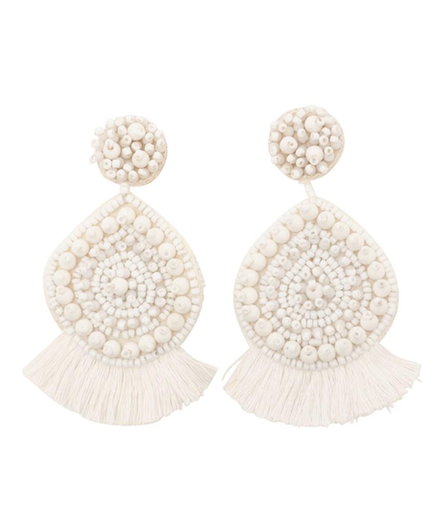Beads Fringe Earrings