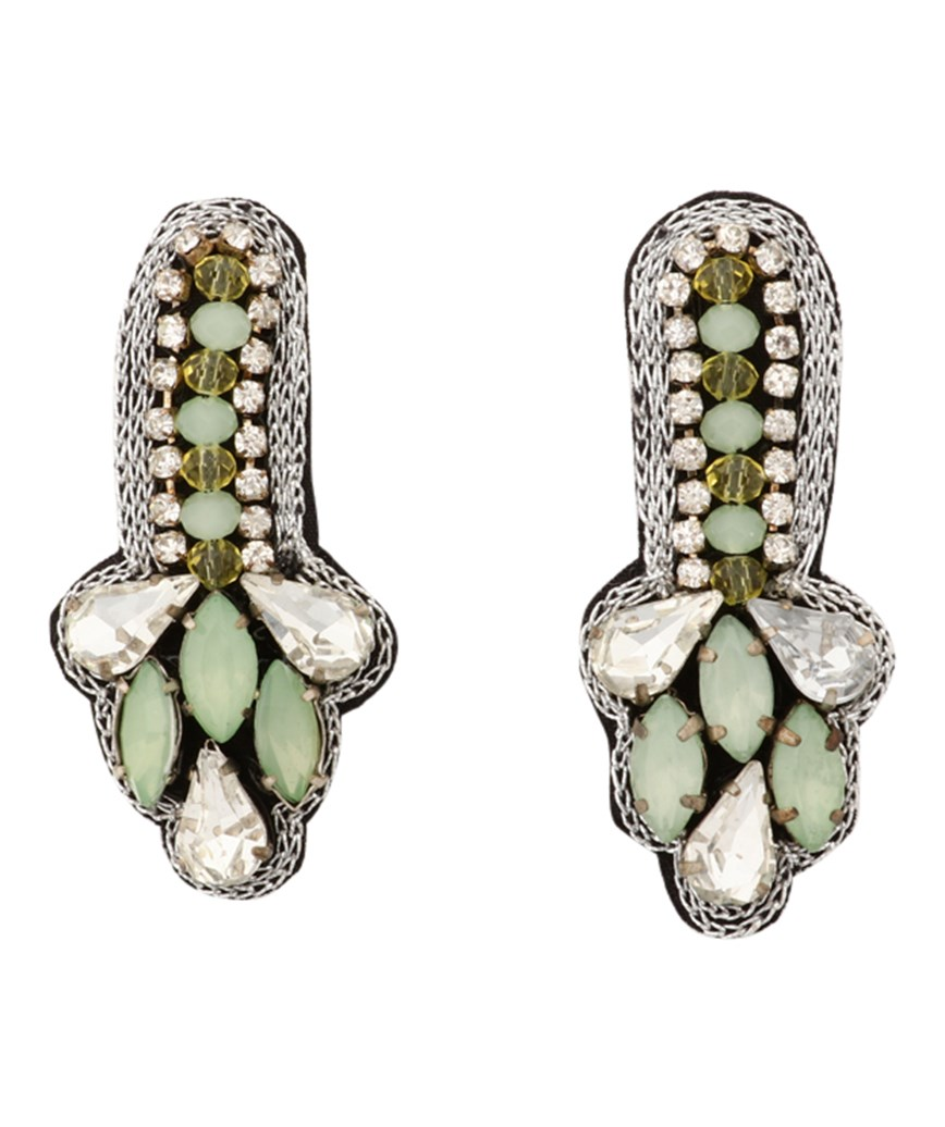 Ice Green Petit Earrings