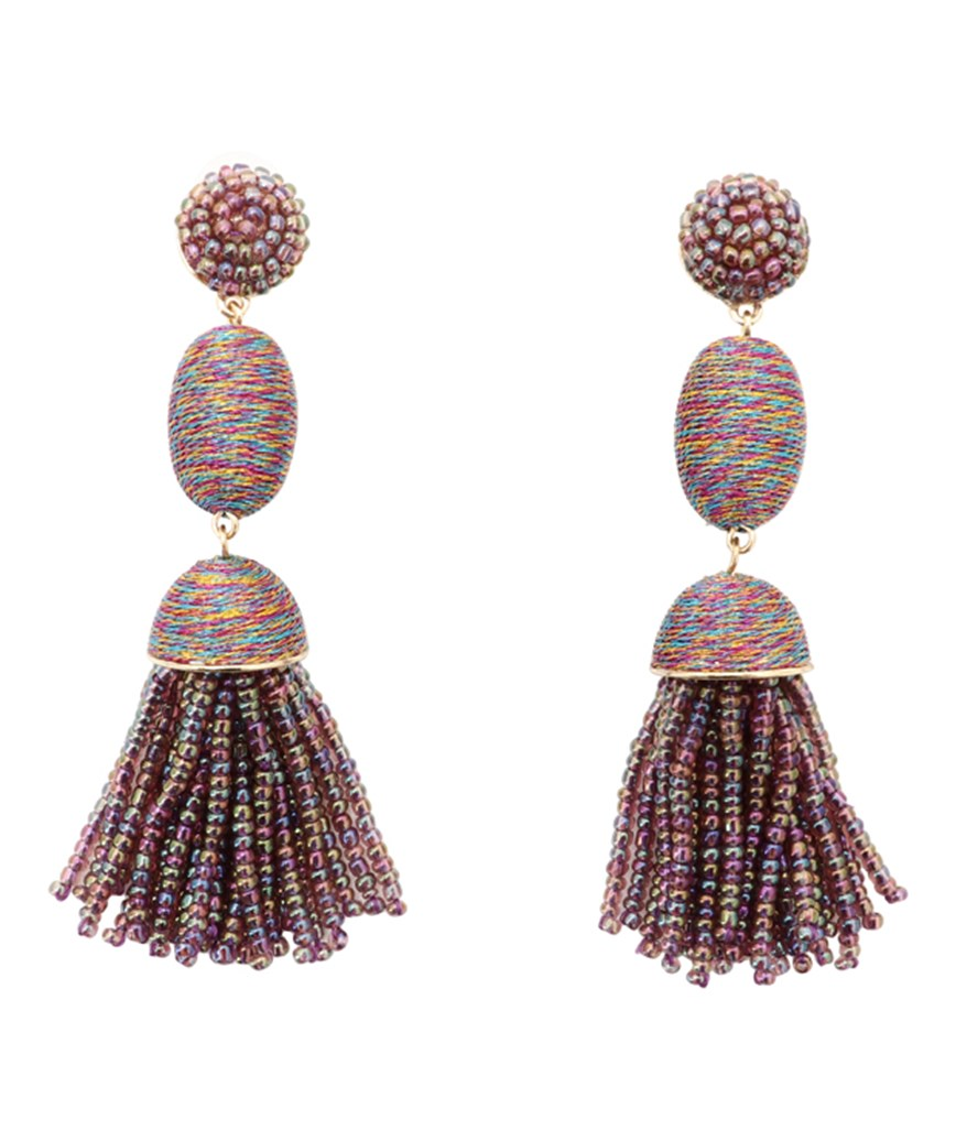 Tamsin Drop Earrings - Multi