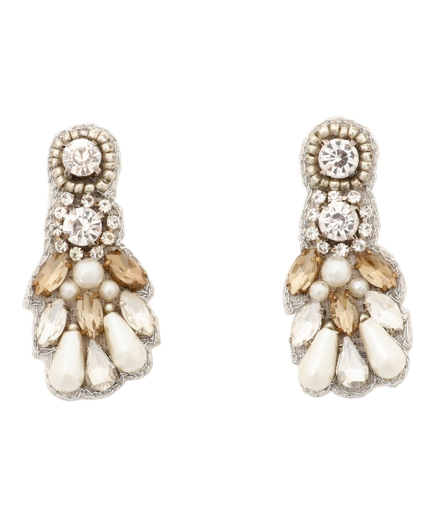 Sillver Pearl Earrings