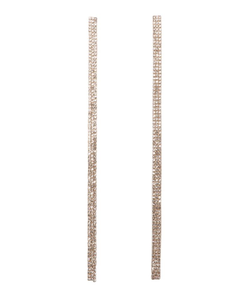 Gold line Earrings